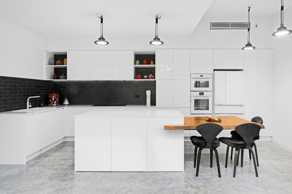 New Kitchen installed while renovating your Victorian Terrace in Sydney