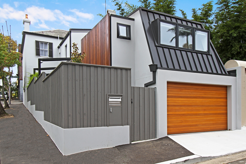 Victorian Terrace House Renovations in Glebe, Trusted Home Builders. Rear Back Elevation