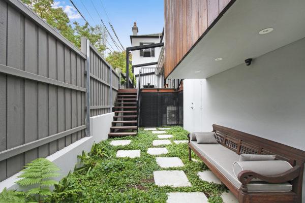 Narrow Side Yard Ideas, Eco Friendly Extension Home Builders Inner West Sydney NSW Australia.