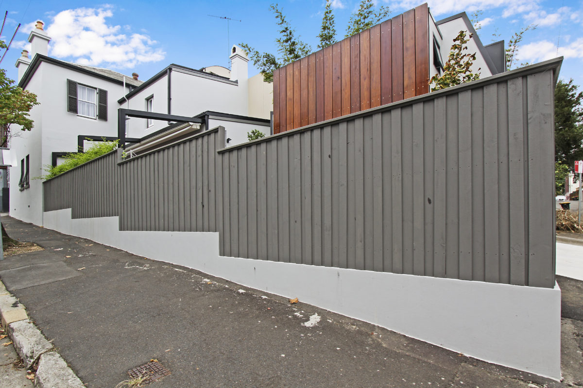 Building Side Elevation Design View of House, Extension Home Builders Inner West Sydney NSW Australia.