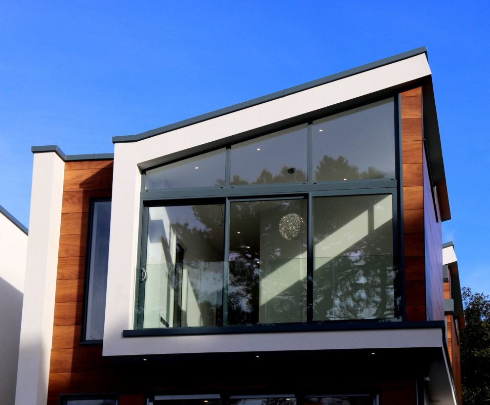Modern house facade design, What to look out for when building a house.