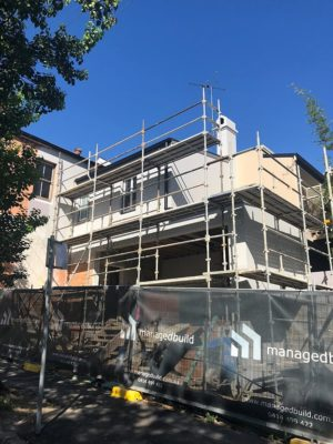 Heritage home frame work ready to build, terrace heritage home builders sydney