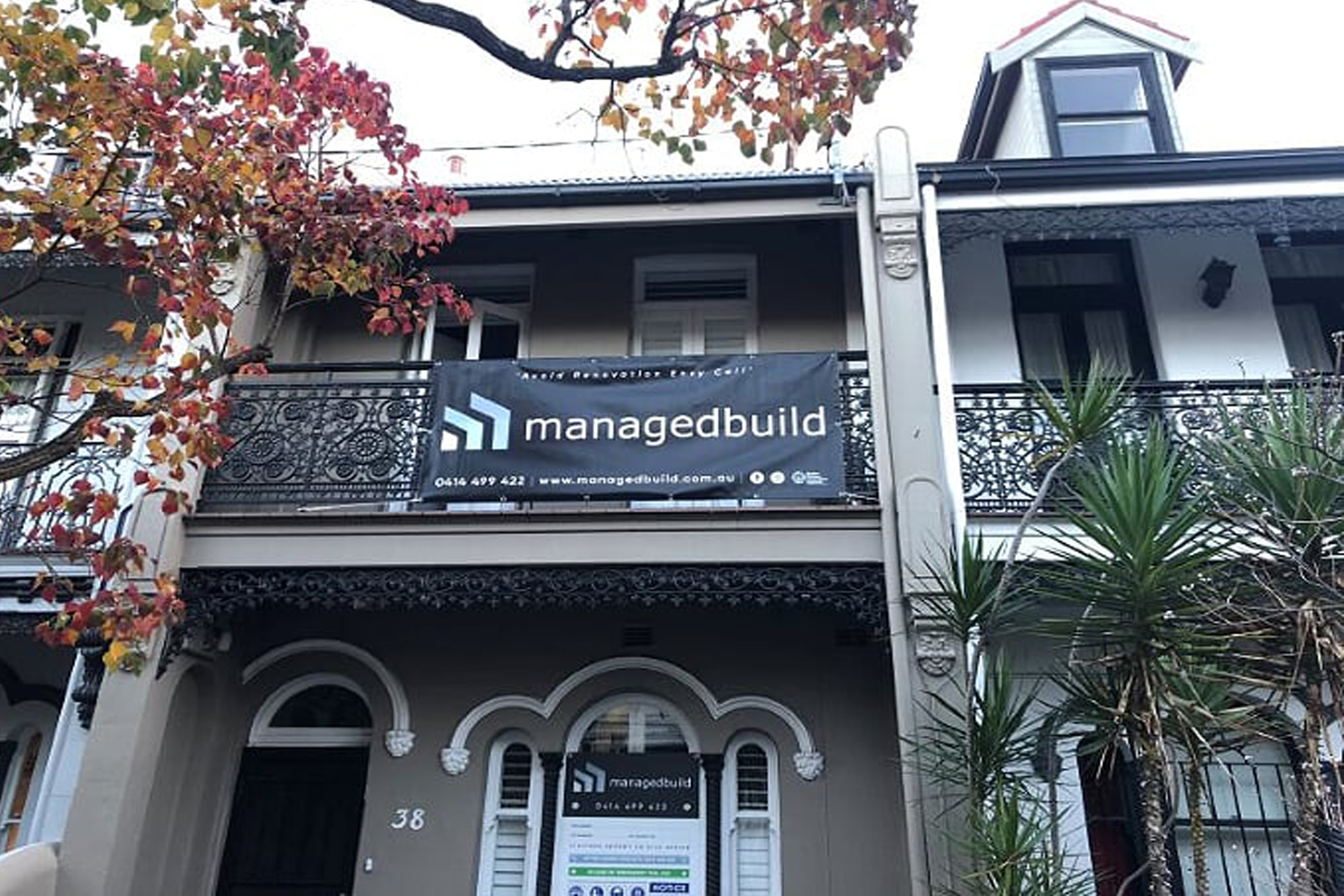 Heritage Terrace House Builder in Sydney.