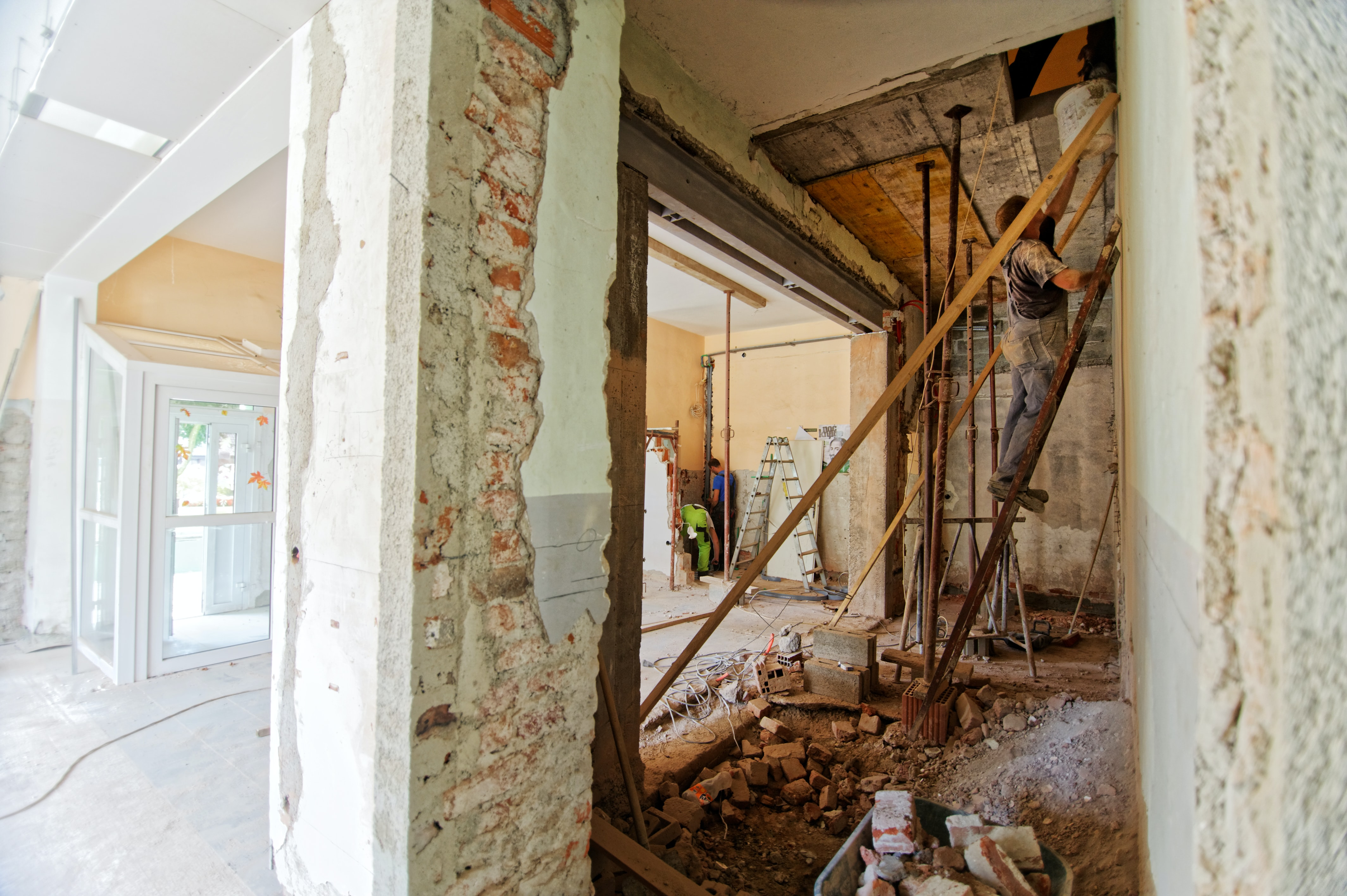 Old to New Renovations and extension on Victorian Terrace Houses, working on the interior