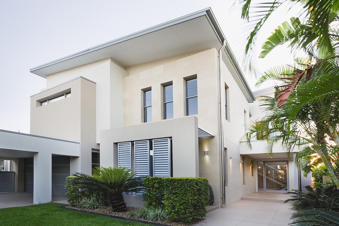 Architect Home Build Sydney, Best Knockdown Rebuild Sloping Bock