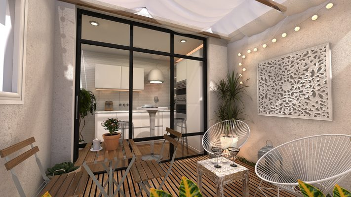 Patio attached to kitchen, Luxury Residential Builders Sydney, Quality Home Builder in Marrickville, Stanmore Inner West